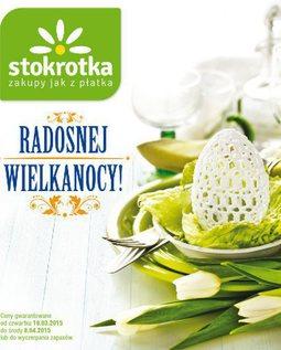 Gazetka promocyjna Stokrotka, ważna od 19.03.2015 do 08.04.2015.