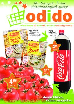 Gazetka promocyjna ODIDO, ważna od 20.03.2015 do 01.04.2015.