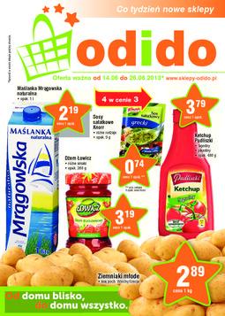 Gazetka promocyjna ODIDO, ważna od 14.06.2013 do 26.06.2013.