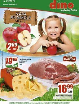 Gazetka promocyjna Dino, ważna od 28.08.2013 do 03.09.2013.