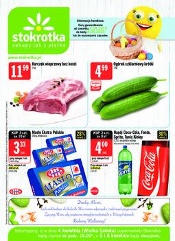Gazetka promocyjna Stokrotka, ważna od 02.04.2015 do 08.04.2015.