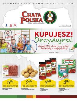 Gazetka promocyjna Chata Polska, ważna od 09.04.2015 do 15.04.2015.