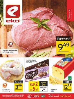 Gazetka promocyjna EKO, ważna od 09.04.2015 do 15.04.2015.