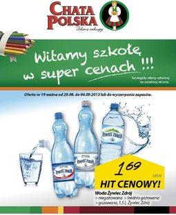 Gazetka promocyjna Chata Polska, ważna od 29.08.2013 do 04.09.2013.