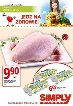 Gazetka promocyjna Simply Market, ważna od 16.04.2015 do 22.04.2015.