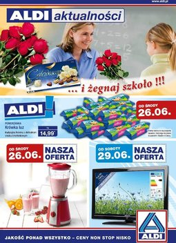 Gazetka promocyjna Aldi, ważna od 26.06.2013 do 03.07.2013.