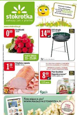 Gazetka promocyjna Stokrotka, ważna od 23.04.2015 do 29.04.2015.