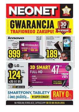 Gazetka promocyjna Neonet, ważna od 23.04.2015 do 29.04.2015.