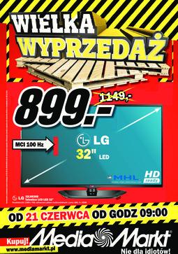 Gazetka promocyjna Media Markt, ważna od 21.06.2013 do 30.06.2013.