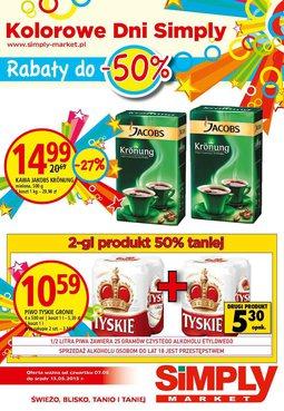 Gazetka promocyjna Simply Market, ważna od 07.05.2015 do 13.05.2015.