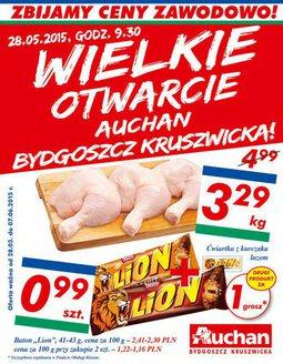 Gazetka promocyjna Auchan, ważna od 28.05.2015 do 07.06.2015.