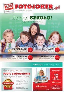 Gazetka promocyjna Fotojoker, ważna od 01.06.2015 do 24.06.2015.