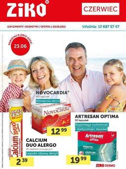 Gazetka promocyjna Ziko Dermo , ważna od 01.06.2015 do 30.06.2015.