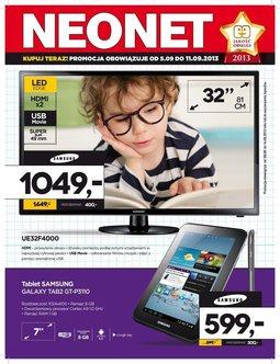Gazetka promocyjna Neonet, ważna od 05.09.2013 do 11.09.2013.