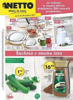 Gazetka promocyjna Netto, ważna od 22.06.2015 do 28.06.2015.