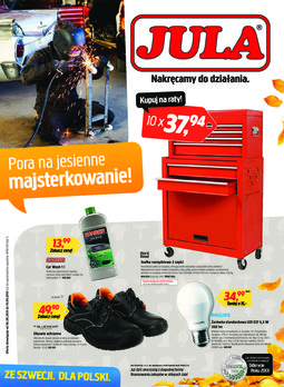 Gazetka promocyjna Jula, ważna od 06.09.2013 do 19.09.2013.
