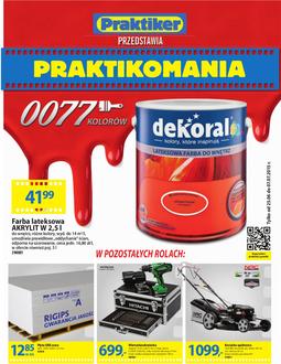 Gazetka promocyjna Praktiker, ważna od 25.06.2015 do 07.07.2015.