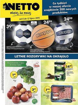 Gazetka promocyjna Netto, ważna od 06.07.2015 do 12.07.2015.