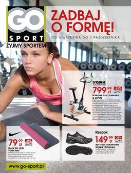 Gazetka promocyjna Go Sport, ważna od 06.09.2013 do 03.10.2013.