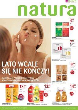 Gazetka promocyjna Drogerie Natura, ważna od 12.09.2013 do 25.09.2013.