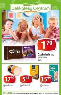 Gazetka promocyjna Delikatesy Centrum, ważna od 12.09.2013 do 18.09.2013.