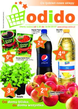 Gazetka promocyjna ODIDO, ważna od 06.09.2013 do 18.09.2013.