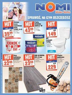 Gazetka promocyjna Nomi, ważna od 14.08.2015 do 27.08.2015.