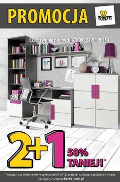 Gazetka promocyjna Forte, ważna od 21.08.2015 do 21.09.2015.