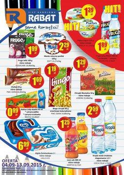 Gazetka promocyjna Rabat, ważna od 04.09.2015 do 13.09.2015.