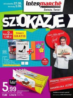 Gazetka promocyjna Intermarche, ważna od 27.08.2015 do 02.09.2015.