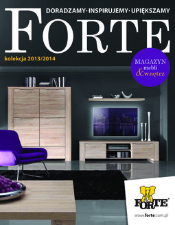Gazetka promocyjna Forte, ważna od 16.09.2013 do 02.02.2015.
