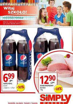 Gazetka promocyjna Simply Market, ważna od 03.09.2015 do 09.09.2015.