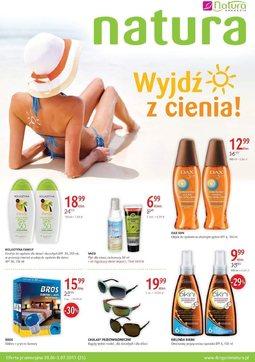 Gazetka promocyjna Drogerie Natura, ważna od 20.06.2013 do 03.07.2013.