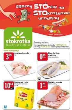Gazetka promocyjna Stokrotka, ważna od 10.09.2015 do 16.09.2015.