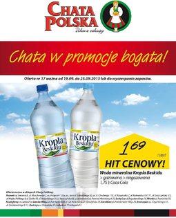 Gazetka promocyjna Chata Polska, ważna od 19.09.2013 do 25.09.2013.