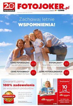 Gazetka promocyjna Fotojoker, ważna od 12.10.2015 do 31.10.2015.