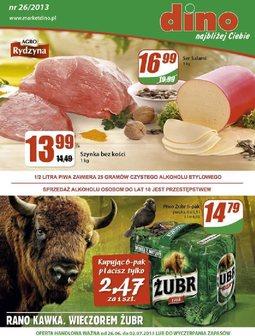 Gazetka promocyjna Dino, ważna od 26.06.2013 do 02.07.2013.