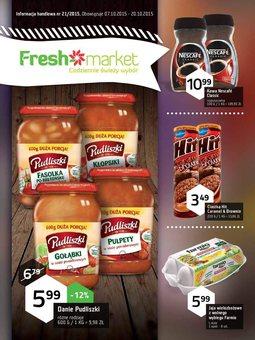Gazetka promocyjna Freshmarket, ważna od 07.10.2015 do 20.10.2015.
