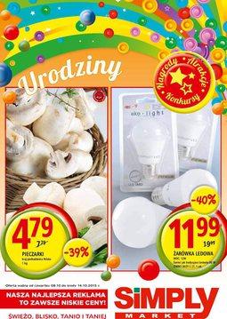 Gazetka promocyjna Simply Market, ważna od 08.10.2015 do 14.10.2015.