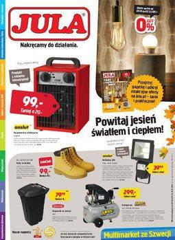 Gazetka promocyjna Jula, ważna od 09.10.2015 do 02.12.2015.