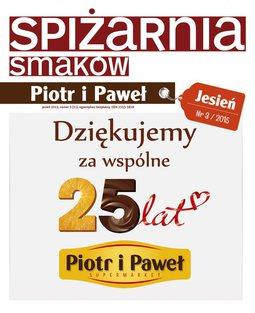Gazetka promocyjna Piotr i Paweł, ważna od 13.10.2015 do 23.12.2015.