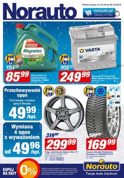 Gazetka promocyjna Norauto, ważna od 15.10.2015 do 02.12.2015.