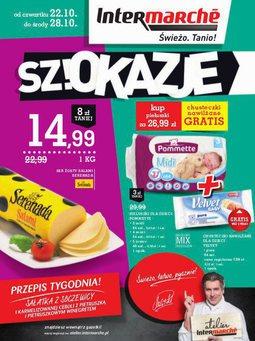 Gazetka promocyjna Intermarche, ważna od 22.10.2015 do 28.10.2015.