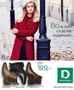 Gazetka promocyjna Deichmann, ważna od 23.10.2015 do 31.01.2016.