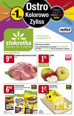 Gazetka promocyjna Stokrotka, ważna od 29.10.2015 do 04.11.2015.