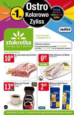 Gazetka promocyjna Stokrotka, ważna od 05.11.2015 do 11.11.2015.
