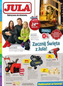 Gazetka promocyjna Jula, ważna od 04.11.2015 do 22.11.2015.