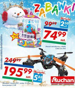 Gazetka promocyjna Auchan, ważna od 05.11.2015 do 30.11.2015.