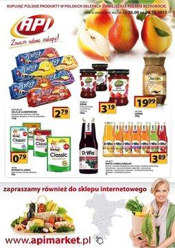 Gazetka promocyjna Api Market, ważna od 25.09.2013 do 08.10.2013.