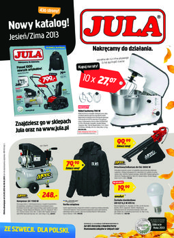 Gazetka promocyjna Jula, ważna od 23.09.2013 do 06.10.2013.
